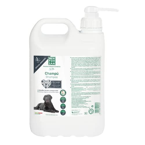 MENFORSAN Champú Perros Pelo Negro - 300 ml
