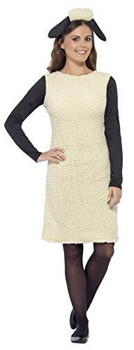 Smiffys 20605S - Shaun das Schaf Kostüm mit Dress und Stirnband