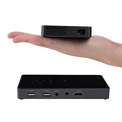 DLP Beamer, Mini Portable Projektor...