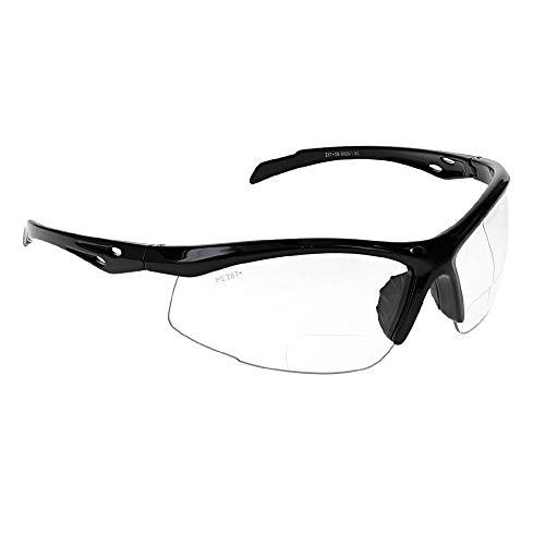 Gafas de seguridad bifocales con aumento de lectura SB-9000 transparente (+1,50)