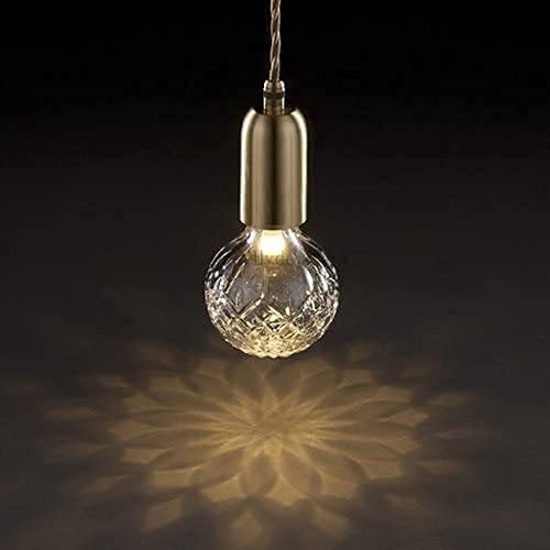 Dkdnjsk Minimalista DIRIGIÓ Pequeña araña colgante mini cabeza soltero colgante lámpara lámpara de lámpara personalidad similitud cristal lámpara de techo pequeño estudio estudio restaurante granja su