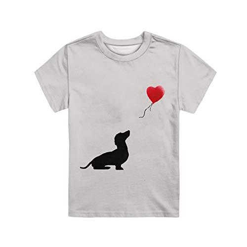 HUGS IDEA Camiseta De Manga Corta, Camisetas De Cuello Redondo con Estampado...