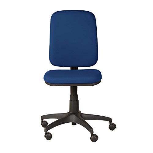 GODREJ INTERIO Learn Fabric Study Chair Suitable for Work from Home- Royal Blue