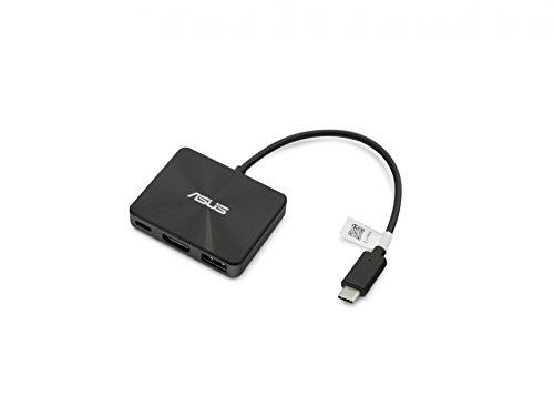 Type-C Negro 3.1 Gen 1 Type-C, ASUS, T303UA//T305CA//UX390UA, 3840 x 2160 Pixeles, Negro Base Al/ámbrico, USB 3.0 ASUS 90NB0000-P00160 USB 3.0 3.1 Gen 1