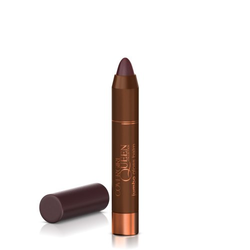 COVERGIRL Queen Collection Jumbo Gloss Balm Silk Sienna Q870, 0.13 Oz by COVERGIRL