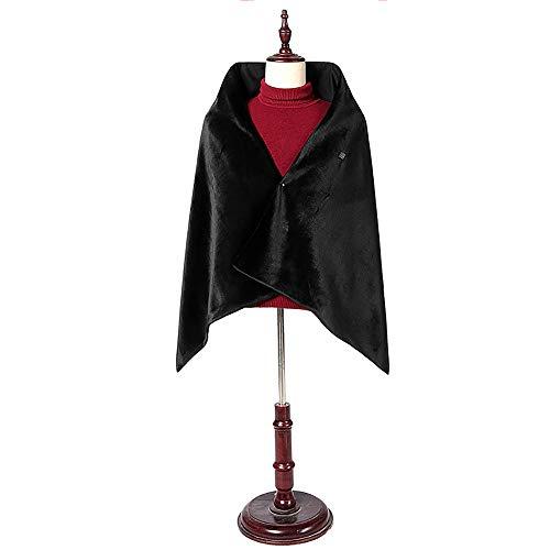 JFZCBXD Damen Outdoor-USB-Schal-Carbon-Faser-Beheizte Schal Beheizte Schal Warme Decke