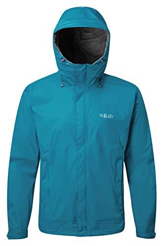 RAB Downpour Jacket - Men's Azure Large