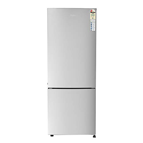 Haier 320 L 2 Star Inverter Frost-Free Double Door Refrigerator (HRB-3404BMS-E, Moon Silver,Bottom...
