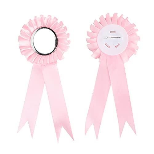 FECAMOS Pin de hojalata con Insignia, botón de Baby Shower de 44 mm, 100 Juegos, Regalos para papá nuevos, revelaciones de género, para Bodas, cumpleaños, Lunas llenas, conmemoraciones de Viajes