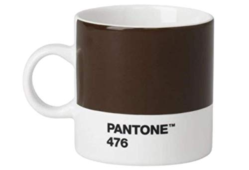 Pantone Porzellan-Esprossotasse Espressotasse, Brown 2322, 120 ml