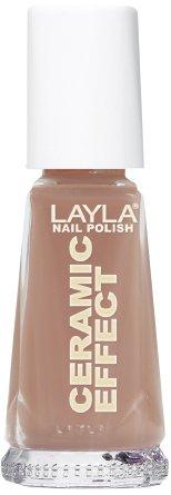 Layla Cosmetics 1243R23-019 Ceramic Effect Nagellack - cappuccino, 1er pack (1 x 0.01 l)