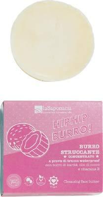 Burro struccante concentrato Hip Hip Burro La Saponaria waterproof