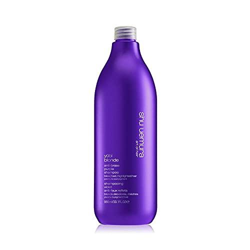 Shu Uemura Yubi Blonde Anti-Brass Purple Shampoo 33.1 Fl Oz / 980ml