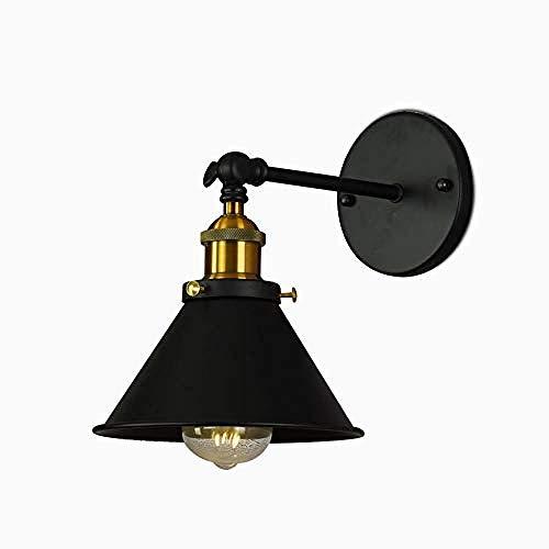 Retro Wandlampe Industrielle Wandlampe Bett Schlafzimmer Schlafzimmer Persönlichkeit Schlafzimmer Kurz Schwarzer Kaffee Catering Kleine Wanddekoration (Keine Lichtquelle)