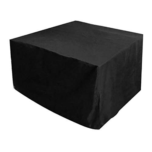 WXFN Garden Furniture Covers Patio Furniture Cover Fabric Rattan Furniture Cover Outdoor Table Covers 210D Oxford with Drawstring,210 * 110 * 70CM