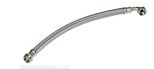 Boutté FFC60 Flexible de surpresseur coude longueur 60mm male femelle 26x34, Or