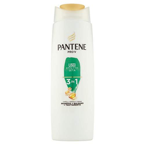 Pantene Pro-V Lisci Effetto Seta 3 in 1 Shampoo + Balsamo + Trattamento, 225ml