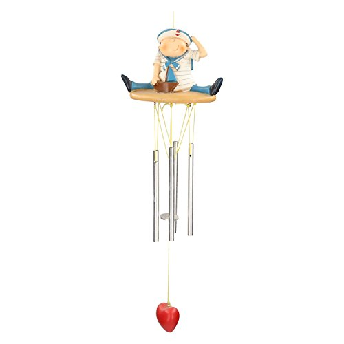 AmaCasa Carillon de Marin Maritim Jeu Design Outdoor vent Jeu Céramique Glockenspiel
