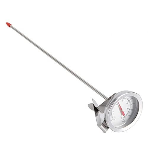 EVTSCAN - Termómetro con clip para hervidor de agua, 1 pieza, termómetros de cerveza para el hogar