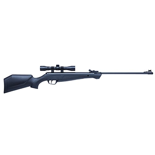 Crosman CSNP2SX Shockwave NP Synthetic Stock Nitro Piston Hunting Air Rifle with 4x32 Scope (.22-Caliber)