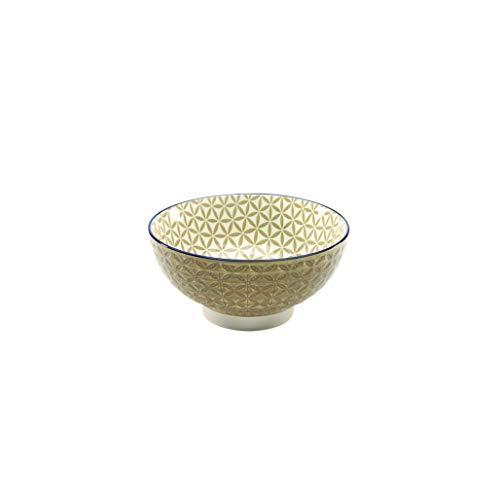 Neu Müslischale Dessertschale Salatschüssel Mediterran | Steinzeug | Taupe | Ø 15 cm …