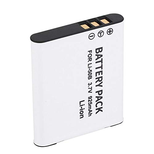Semiter Batería de cámara de Gran Capacidad, batería Li-50B de Alta energía para fotógrafo para Accesorios de fotografía para Piezas de cámara para Suministros de cámara