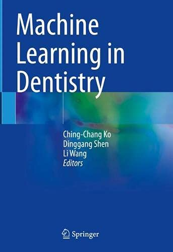 Machine Learning in Dentistry Front Cover