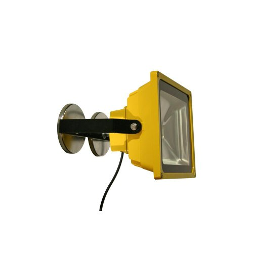 Lind Equipment LE970LED-MAG Super Bright LED Portable Floodlight, 50 Watts, Weatherproof, Industrial, Bulbs Rated for 50,000 hours, Low Energy Usage, as bright as a 500-Watt quartz halogen, Magnet Mount