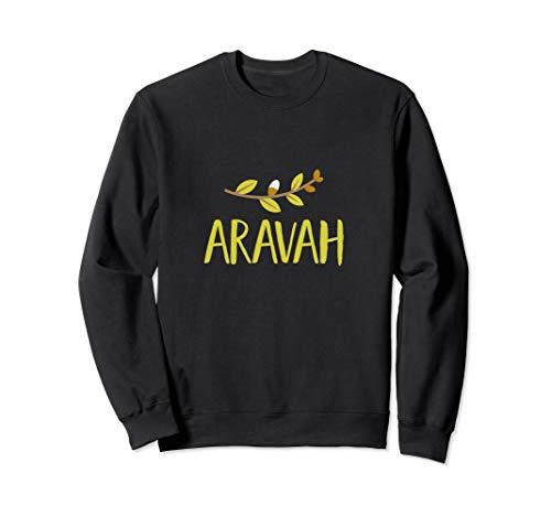 Arava 4 Arten Weidenbaum Blätter Sukkot Jüdischer Feiertag Sweatshirt