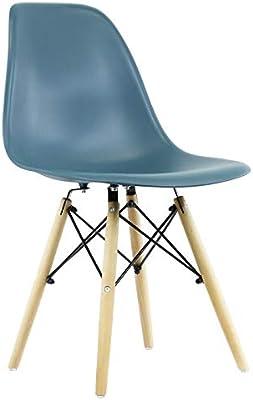 Regalos Miguel - Sillas Comedor - Silla Tower Basic - Verde Azulado