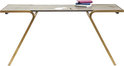 Kare Storm Schreibtisch, Andere, Grau, 55 x 160 x 76 cm