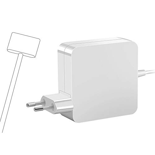 Rocketek Mac Book Air Cargador Adaptador T Cargador de 45 W Reemplazo Adaptador de Corriente Mac Book Air de 11 y 13, Compatible con la versión de Mac Book Air 2012-2018