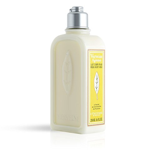 L'Occitane Crisp Citrus Verbena Body Lotion Enriched With Grapefruit Extract and Organic Verbena, 8.4 Fl Oz