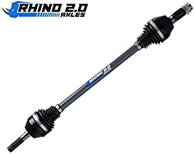 SuperATV Heavy Duty Rhino 2.0 Axle for Can-Am Maverick Standard/XMR/XRS/MAX - Stock Length - 2X Stronger Than Stock! - REAR