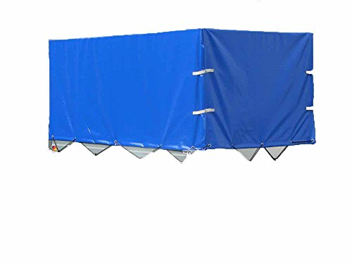 STEMA Z45076953 Anhänger Hochplane Plane blau 80 cm für Kasteninnenmaß 201 x 108