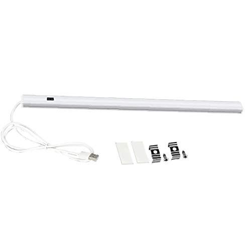 ZYCX123 Armario de la lámpara de inducción del gabinete del LED de Tres Colores Ajustables y de instalación Sencilla Cocina 50CM luz LED para Cocina Dormitorio