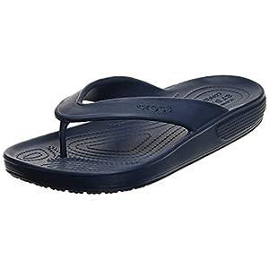 Crocs Unisex Men's and Women's Classic II Flip Flops   Adult Sandals, Navy, 13 US