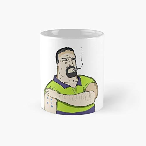 Mike Nolan - Taza de café clásica con el mejor regalo, 325 ml