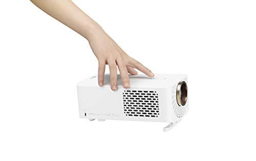 """LG Cinebeam HF60LSR - Proyector TV (Hasta 120"""", Fuente Led, 1.400 Lúmenes, Resolución 1920 X 1080) Color Blanco miniatura"""