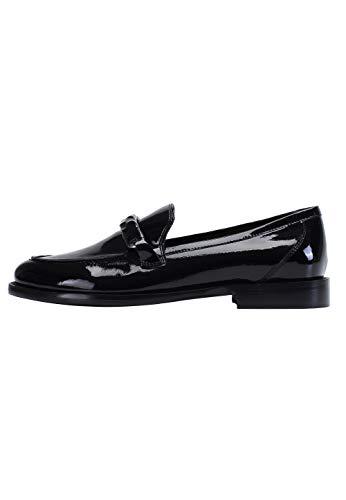 ekonika Damen Loafer aus glänzendem...