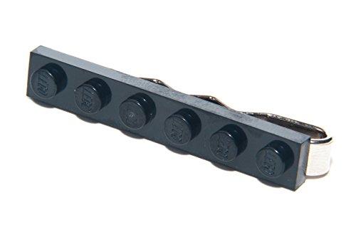 MILLIE LANE - Epingle Clip à Cravate Brique Lego Noir Unique Idée Cadeau - Noir