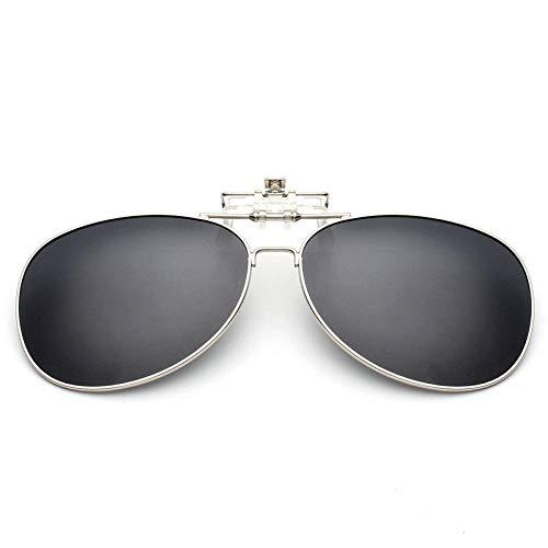 Gafas de Sol Clips Antideslumbrantes Clip De Gafas De Sol Polarizadas Tipo De Clip De Gafas De Sol De Moda protección para los Ojos (Color : L)