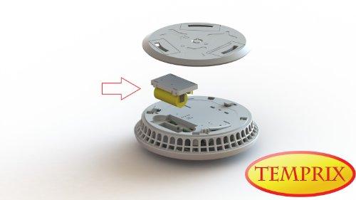 Fire Angel Funkmodul W2 für den Rauchmelder ST-630 DET, 10 Jahres Batterie