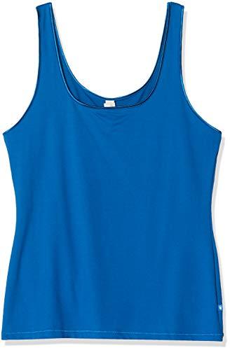 Triumph Damen Be Pure SHIRT02 Unterhemd, Blau (Lagoon Blue 6915), Herstellergröße: 46