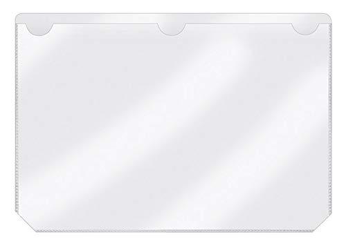 Veloflex, 2215600, zelfklevende etiketten A5 liggend formaat, hoge kleefkracht, temperatuurbestendig, 50 stuks