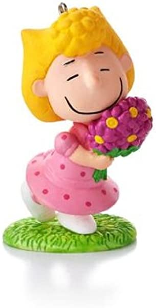 Hallmark Keepsake Ornament The Peanuts Gang Sallys Spring Bouquet 10th In Series 2013