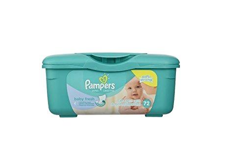 Pampers Baby Wipes Tub Fresh Baby Fresh 77-Count (Tücher und Nachfüller)