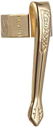 Kaweco Stift Clip Nostalgie Sport für alle Stifte der Sport Reihe I Stifte Halterung mit dezentem Logo als schönes Accesscoire I Kugelschreiberhalter aus Bronze vergoldet I Gold