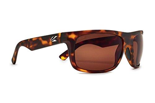Kaenon Burnet Mid Sunglasses (Tortoise Matte Grip, Ultra Brown 12 -...