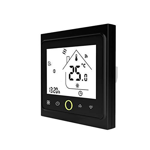 XIANNVV Termostato inteligente Termostato WIFI, Smart Life Touching APP Control remoto, Regulador de temperatura Regulador de temperatura eléctrico
